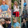Os looks da Taylor Swift em Begin Again