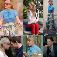 Os looks da Taylor Swift em Begin Again