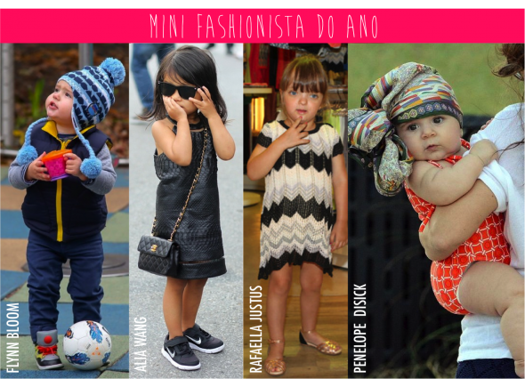Retrospectiva 2012: Mini Fashionista do ano
