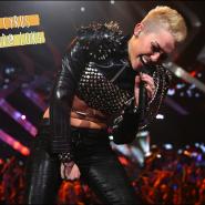 O ano capilar da Miley Cyrus