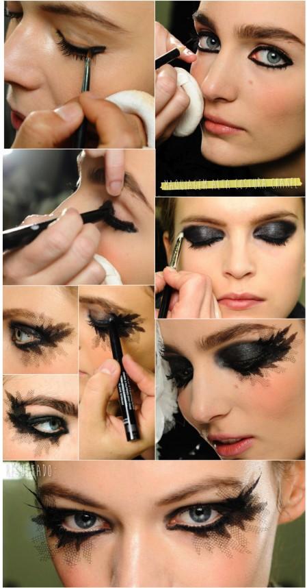 Maquiagem Chanel Alta Costura 2013