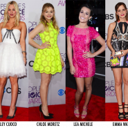 Os looks do People's Choice Award 2013
