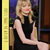 O batom laranja da Emma Stone!