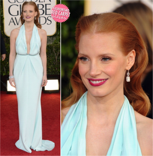 Golden Globe 2013: Jessica Chastain