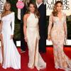 Golden Globe 2013: Heidi Klum, Lea Michele, Jennifer Lopez