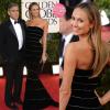 Golden Globe 2013: Stacy Keibler (e George Clooney)
