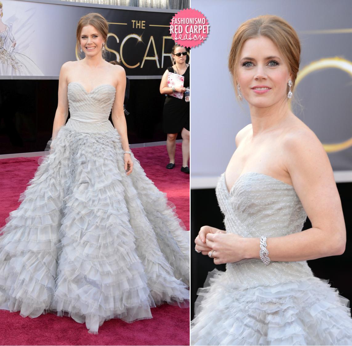 Oscar 2013: Amy Adams - Fashionismo