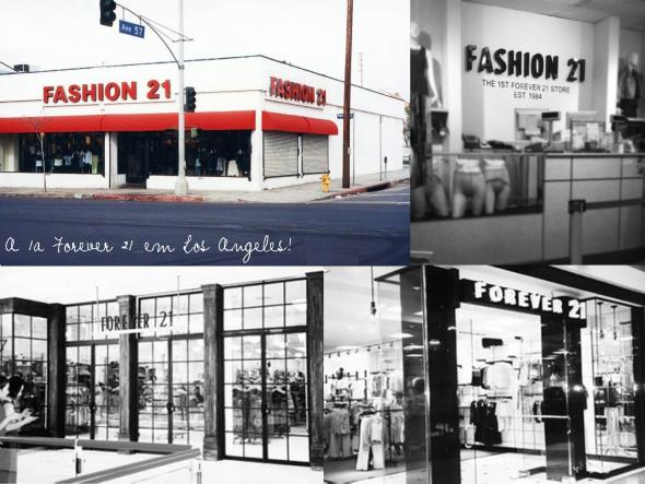 f1eef8c5276 Forever 21 na realidade começou como Fashion 21