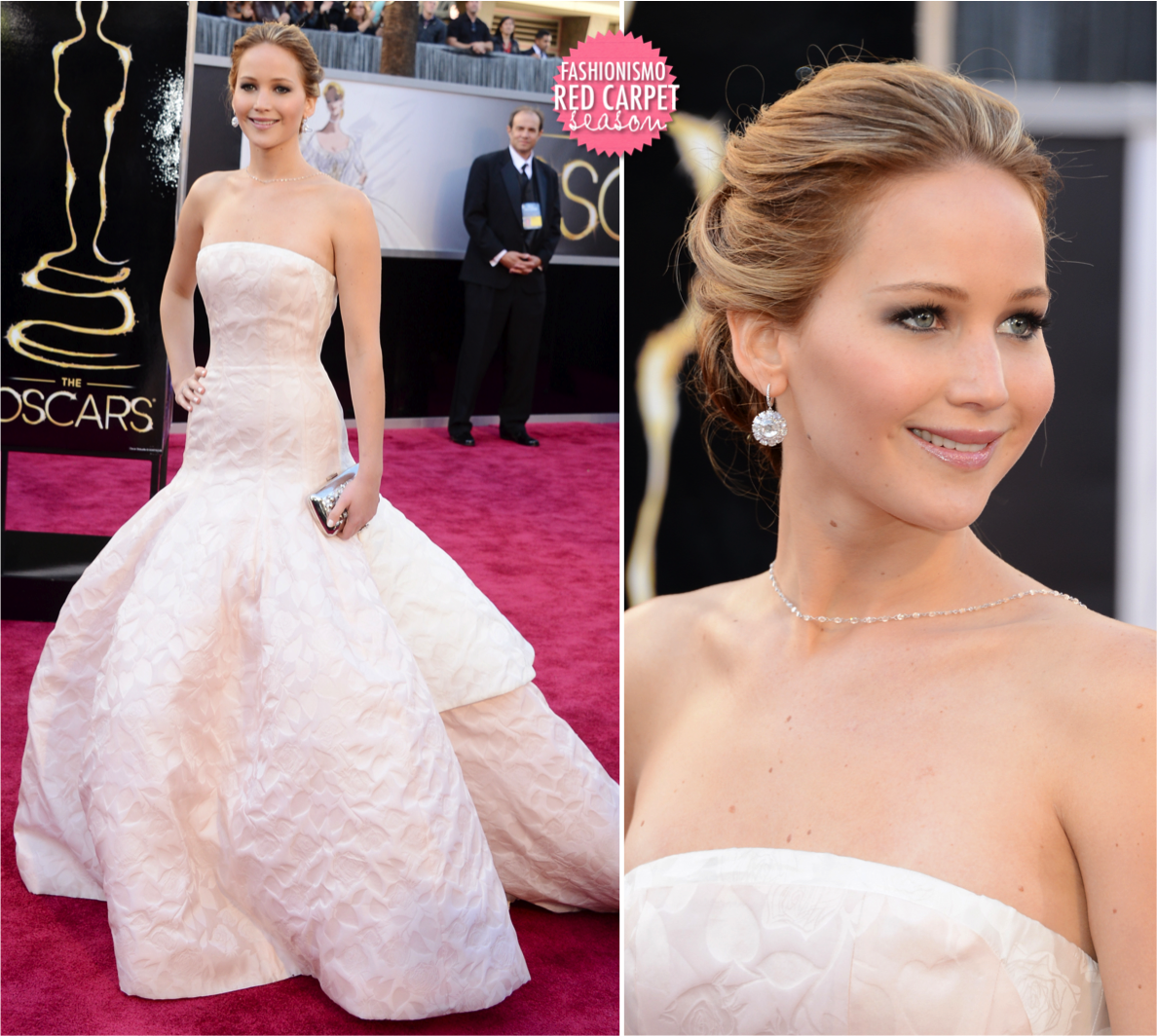Oscar 2013: Jennifer Lawrence - Fashionismo
