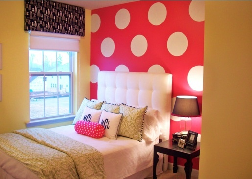 7 ideias: decor polka dot!