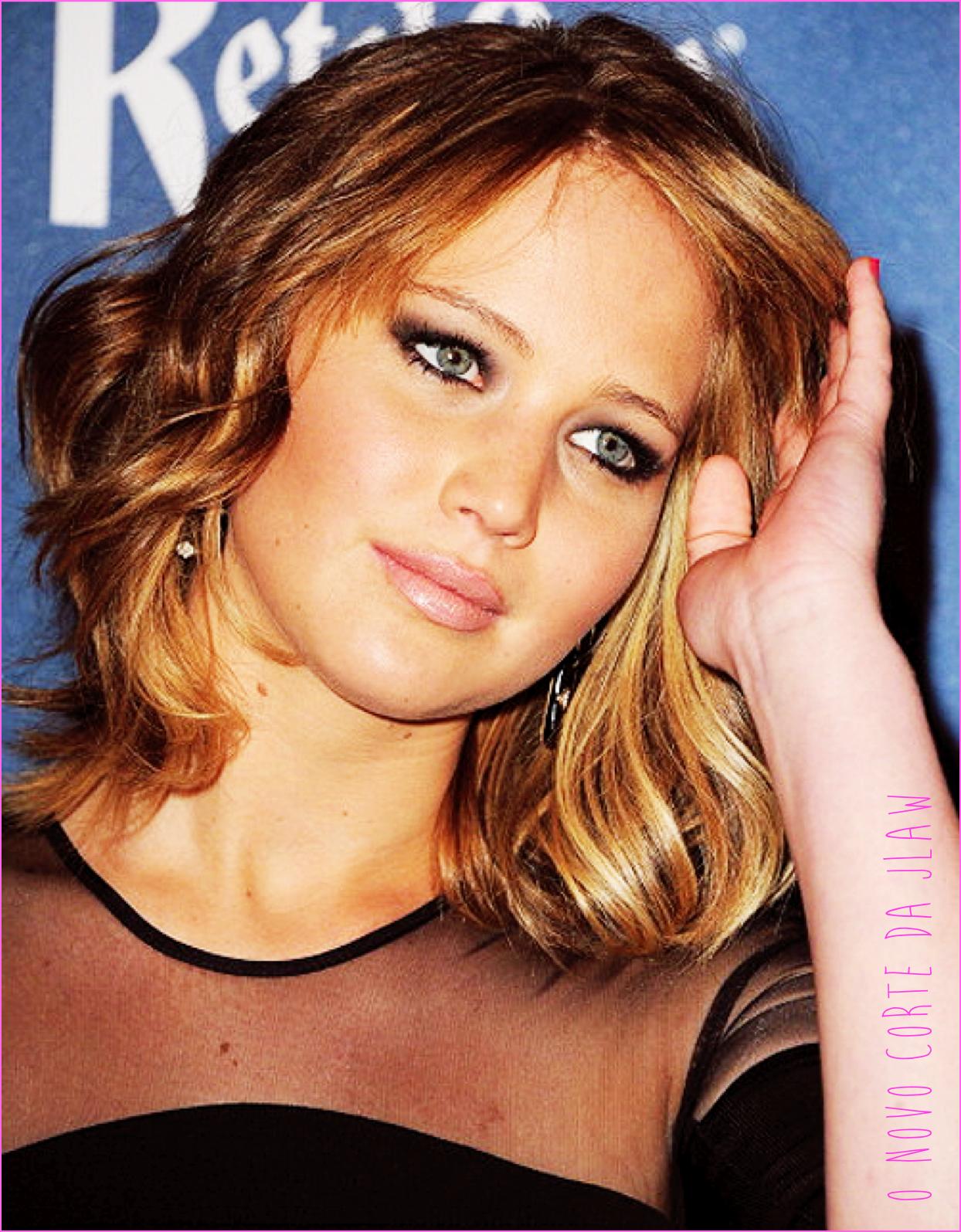 O novo corte de cabelo da Jennifer Lawrence