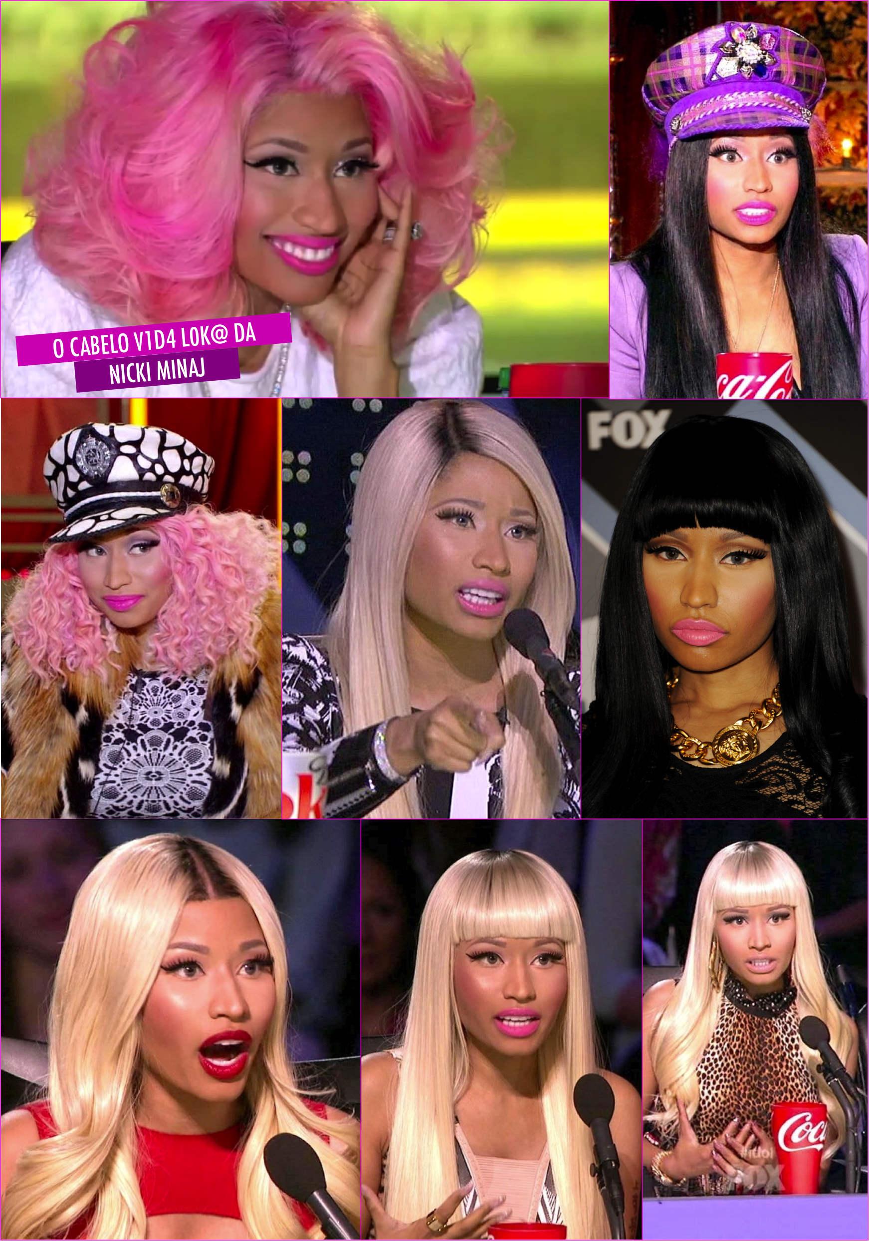 Os cabelos do American Idol!