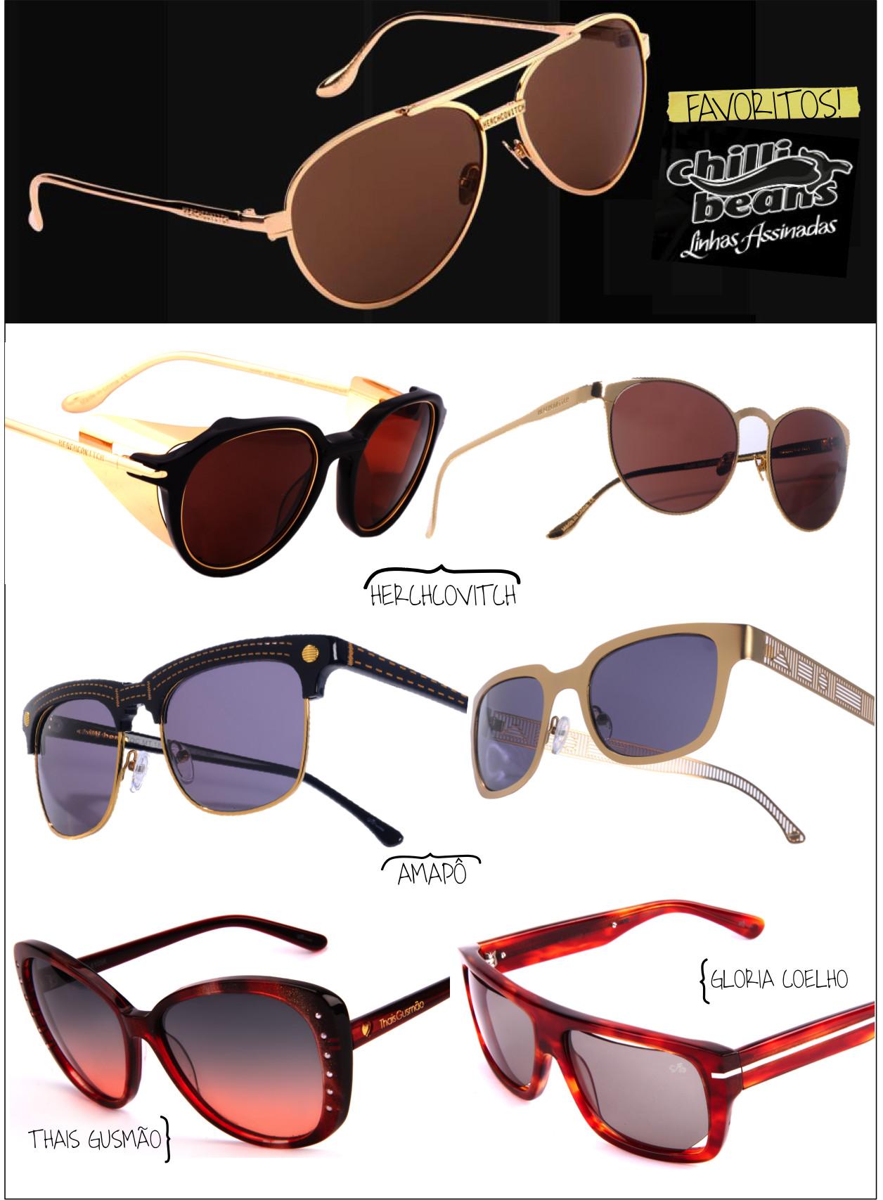 4d8e97266d8bd Favoritos chilli beans. Cada estilista desenvolveu óculos de sol e grau ...