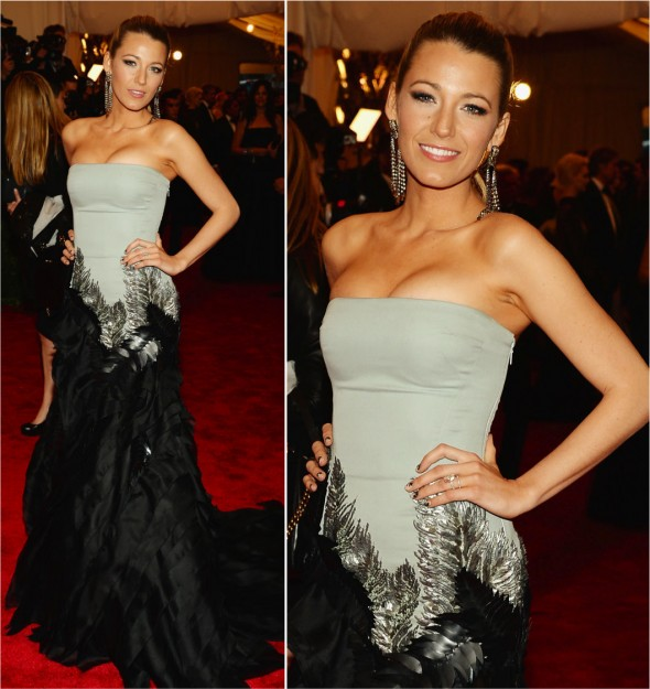Baile do Met 2013: Blake Lively