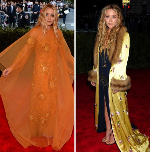 Baile do Met 2013: Ashley e Mary Kate Olsen