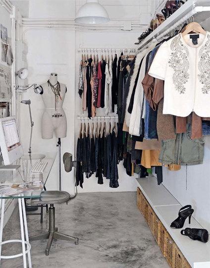 7 dicas de closet aberto fashionismo - Armarios abiertos baratos ...