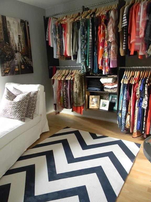 closet ideas for small rooms - Closet Pequeno Idéias inspiradoras e muito criativas