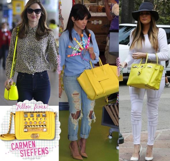 bolsa amarela 1