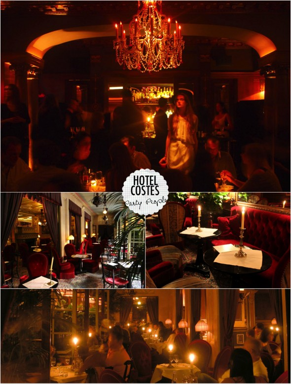 hotel costes bar dica paris