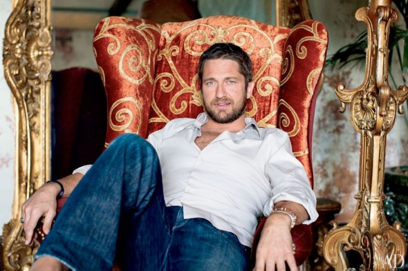 O apartamento do Gerard Butler em Manhattan!