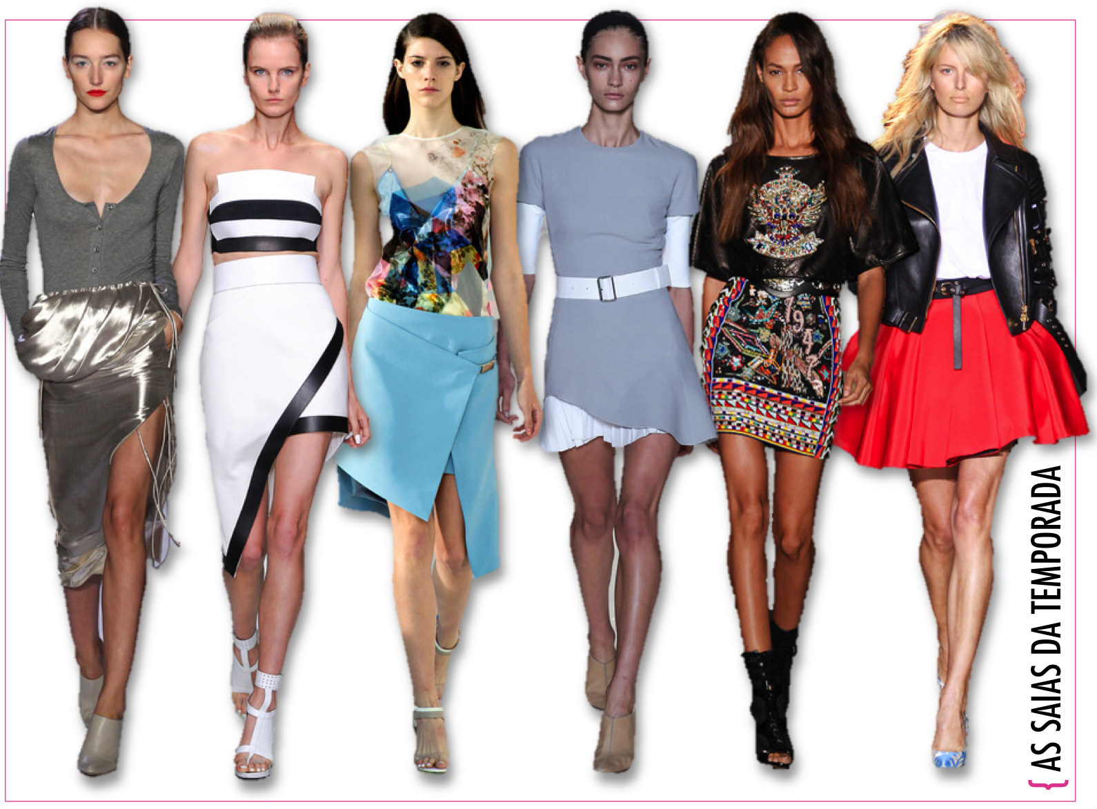 As principais tendências dessa temporada de moda!