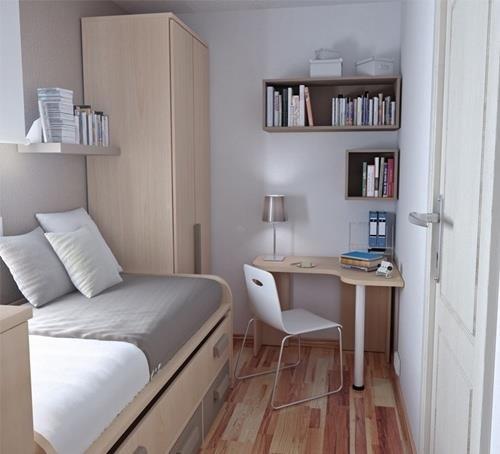5 ideias de quartos pequenos fashionismo - Dormitorio pequeno juvenil ...