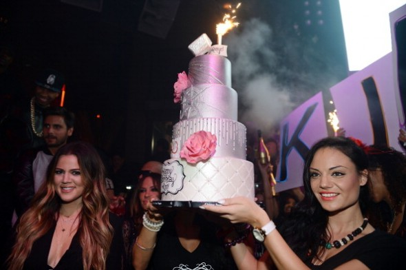 Kim Kardashian Celebrates Her Birthday At Tao Las Vegas