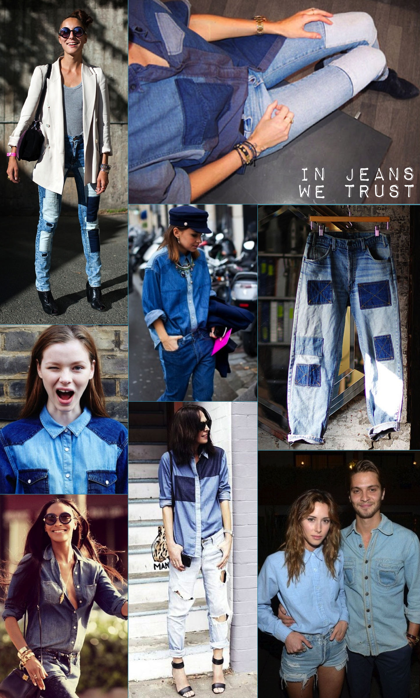 Jeans mania!