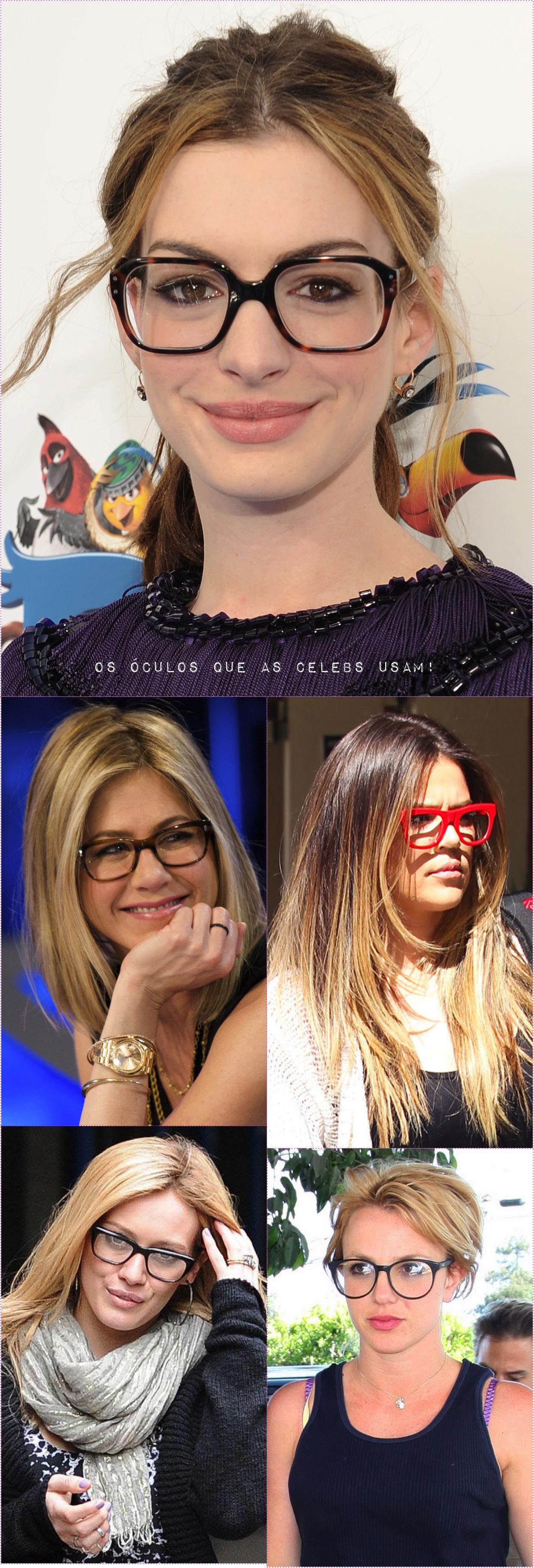 acd4f5fd040f5 AMO esse look da Anne Hathaway com esses óculos grandões