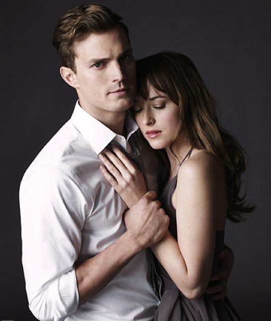 Christian Grey e Anastasia Steele juntos!