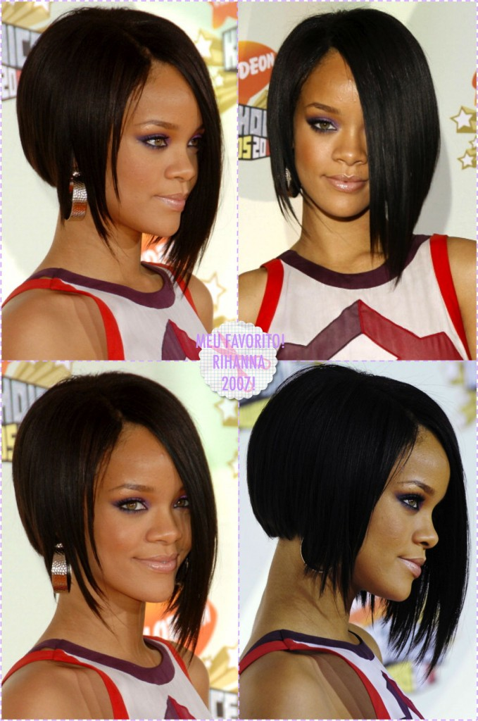 cabelo curto rihanna