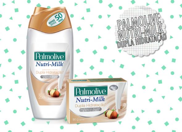 Novo Nutri-Milk da Palmolive