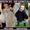 Retrospectiva 2013: Bebê Fashionista do ano