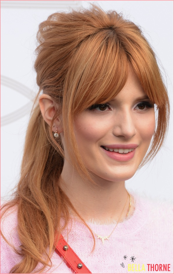 3 bella thorne ponytail