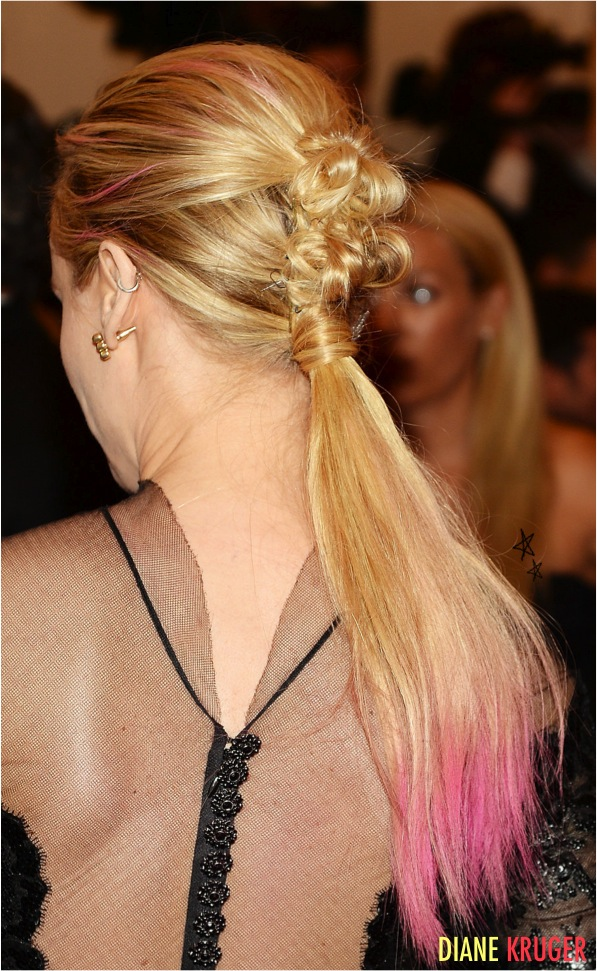 6 diane kruger ponytail