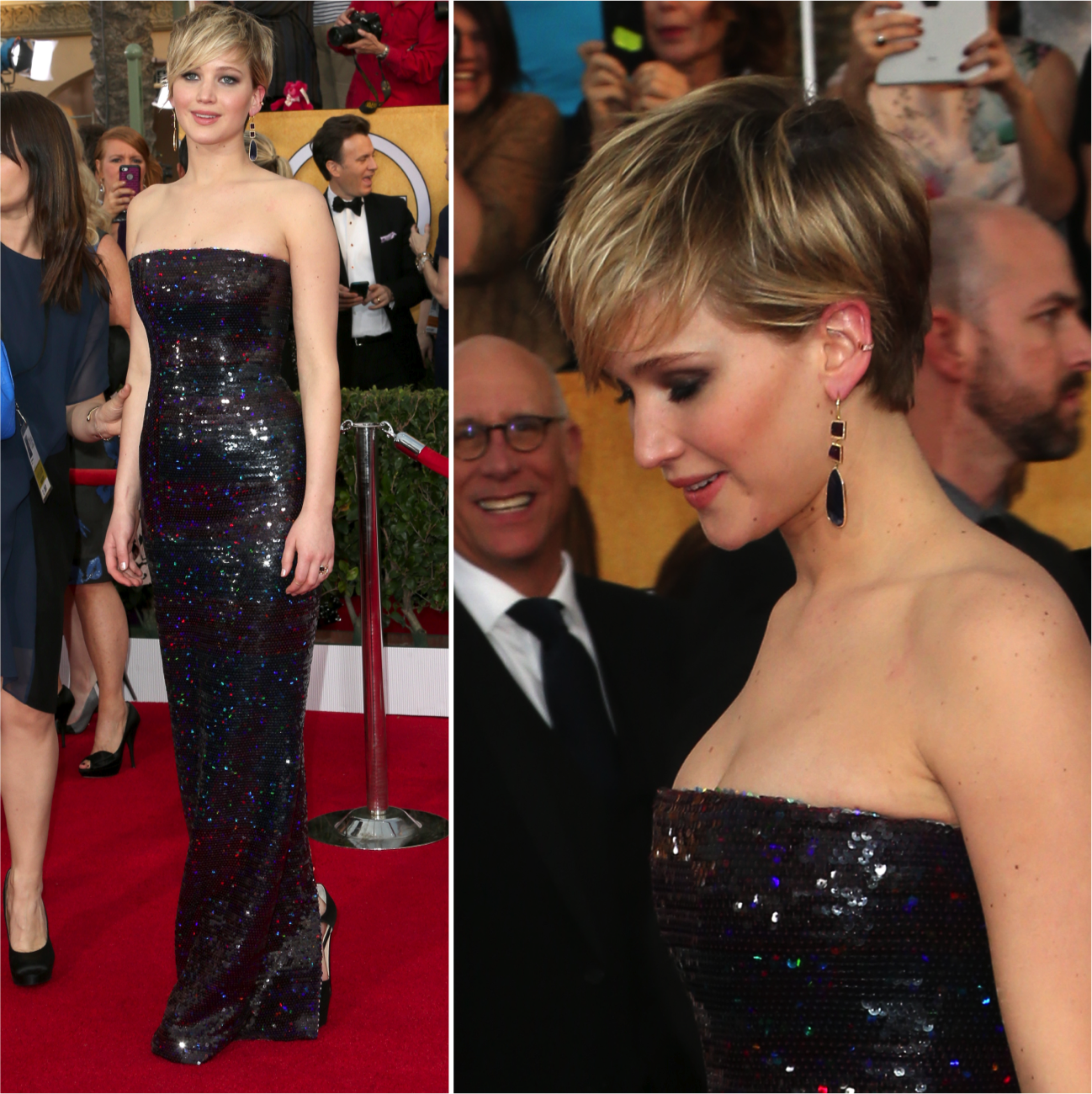 Screen Actors Guild 2014: Jennifer Lawrence