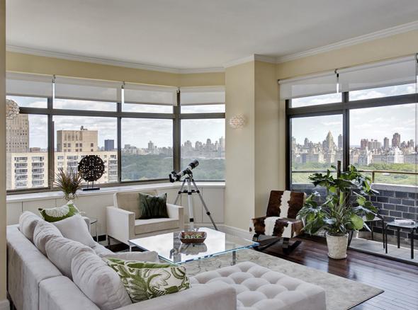 Um apartamento em Nova York