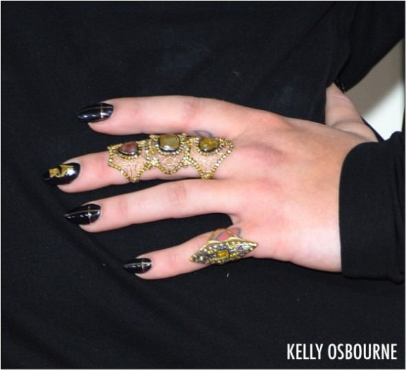 KELLY OSBOURNE NAILS