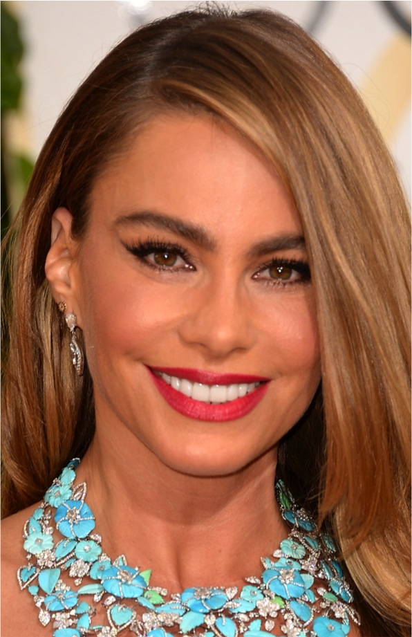 SOFIA VERGARA GOLDEN GLOBE 2014