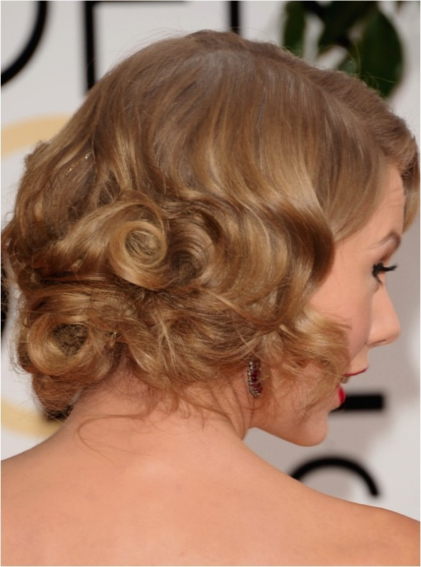 TAYLOR HAIR GOLDEN GLOBE 2014
