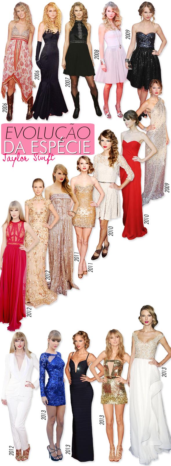 Evolução da Espécie: Taylor Swift