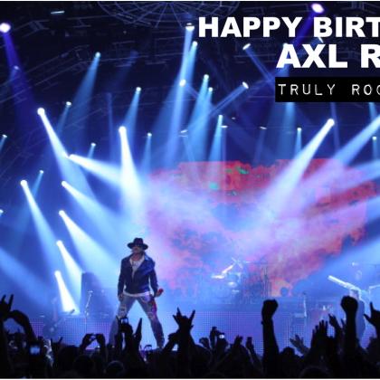 Feliz aniversário, Axl Rose!
