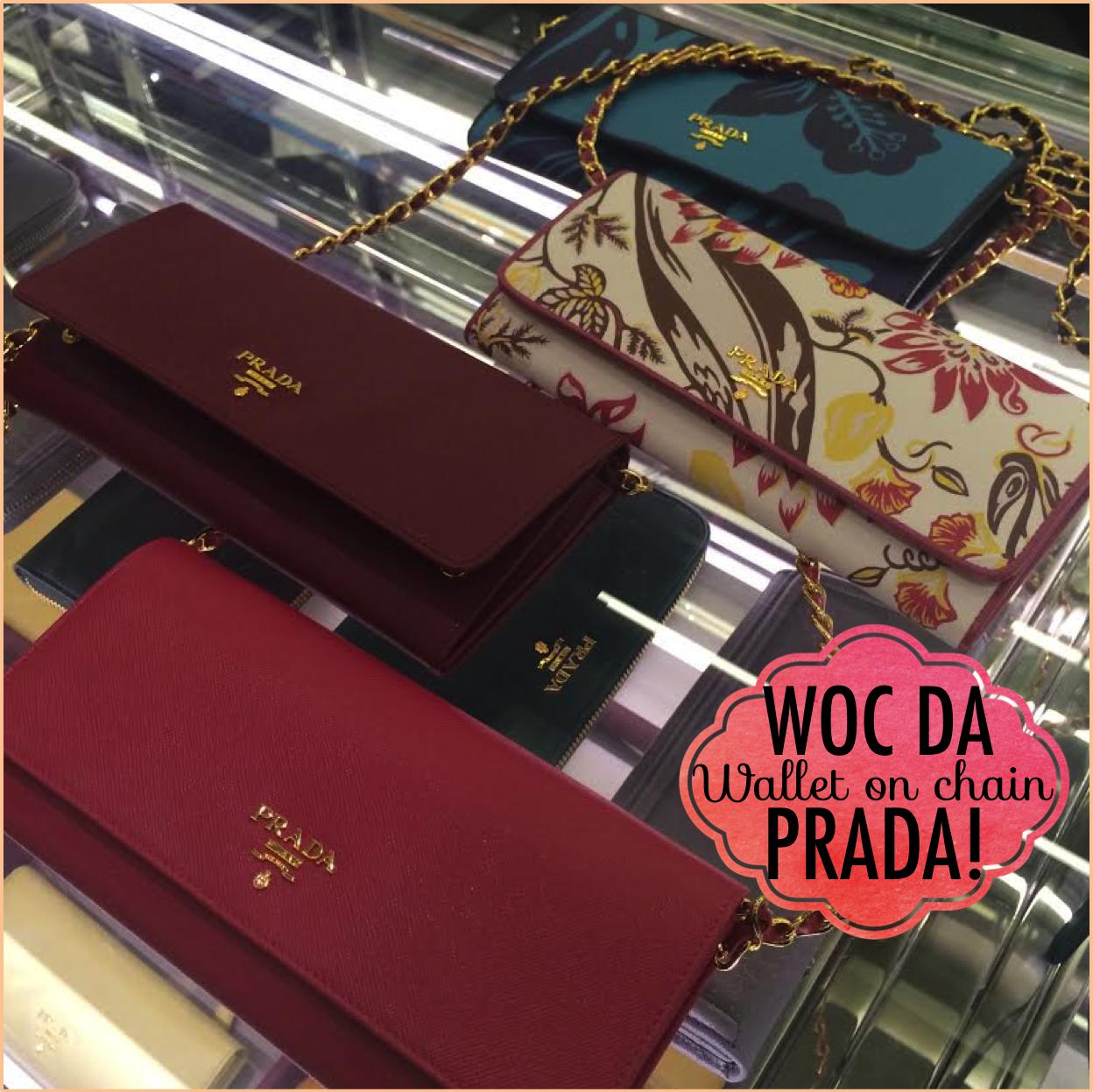 preço bolsa prada village mall wallet