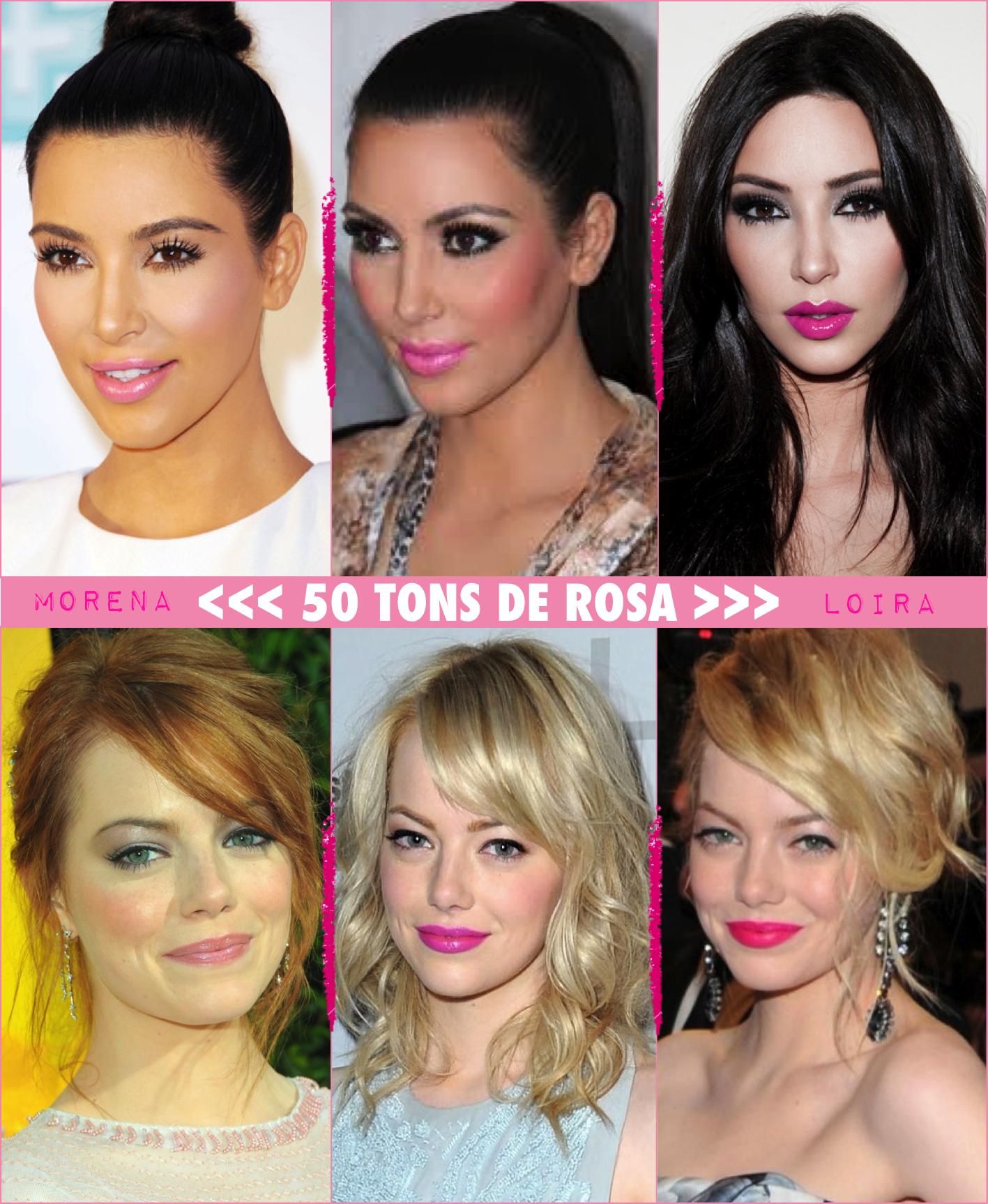 4f12723e995604 Dicas pro seu batom rosa perfeito! - Fashionismo