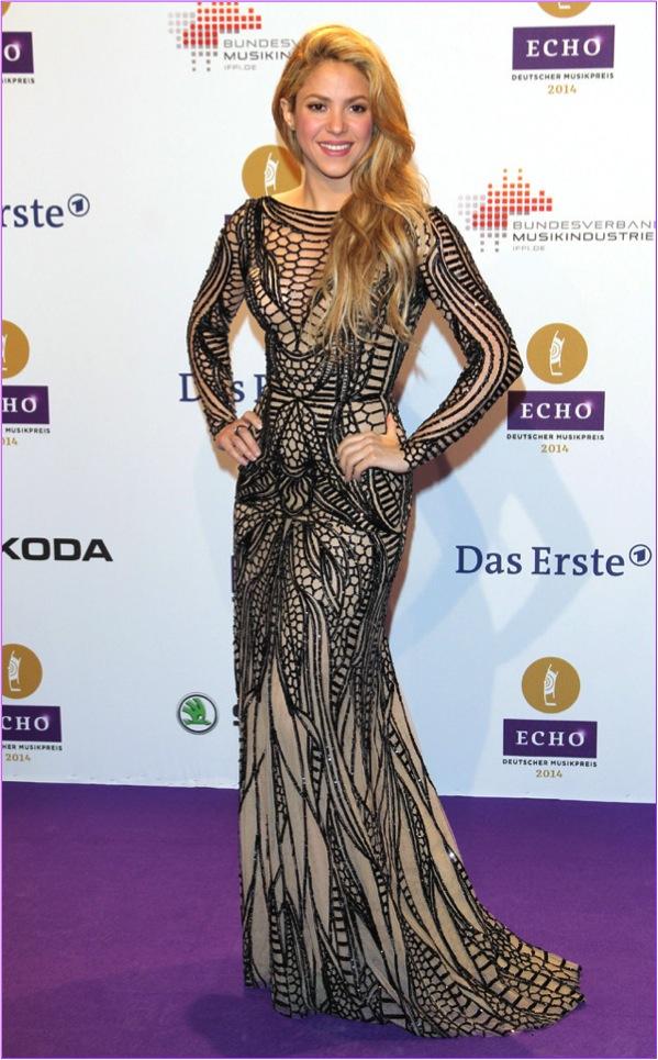 milan e shakira 2014 dresses - photo#18