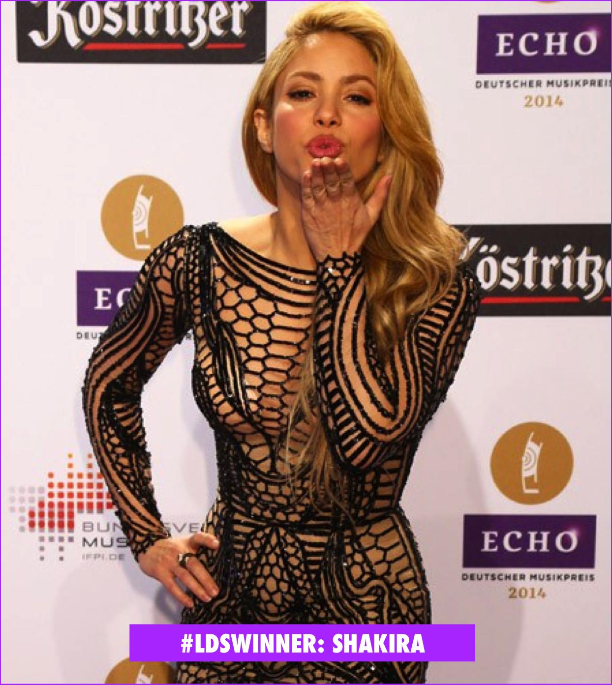 Look da Semana: Shakira