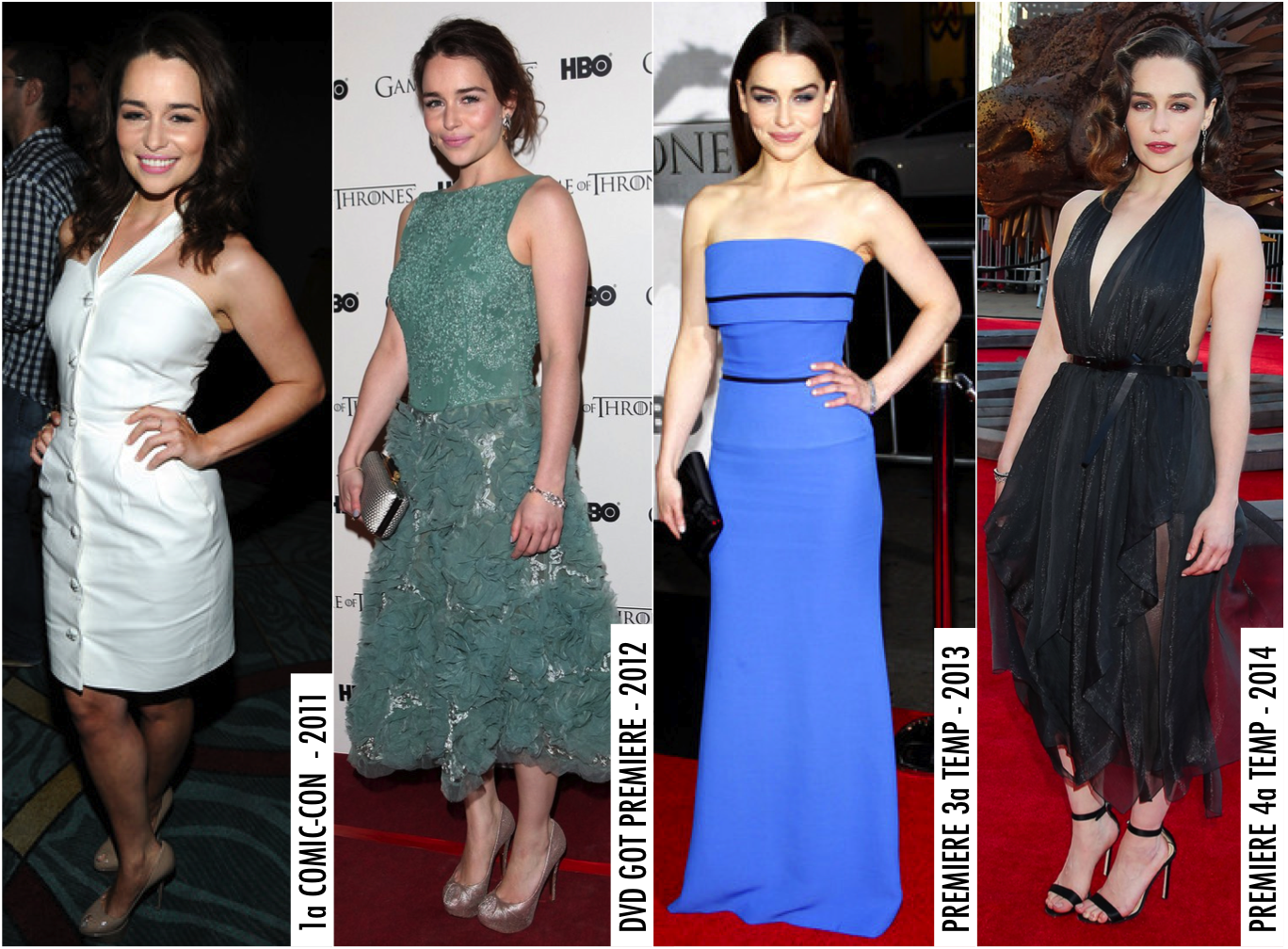 emilia clarke got fashion