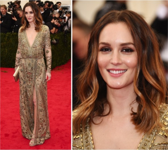 Baile do Met 2014: Leighton Meester