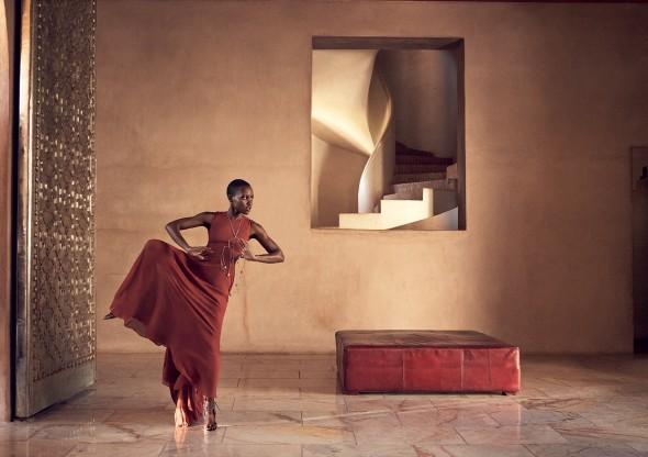 Lupita Nyong'O na capa da Vogue América