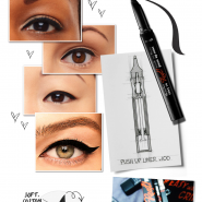 Lançamento mundial: Push-Up Liner, They're Real da Benefit!